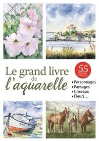 S Debucquoi et T. de Marichalar - Le grand livre de l'aquarelle.