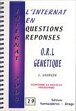 S Georgin - ORL génétique.