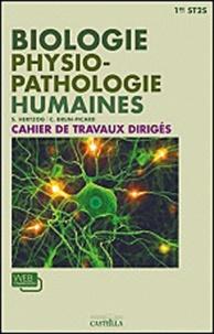 S. Herzog et Christophe Brun-Picard - Travaux dirigés biologie et physiopathologie humaines 1e ST2S.
