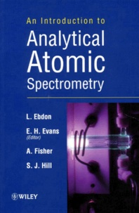 Costituentedelleidee.it AN INTRODUCTION TO ANALYTICAL ATOMIC SPECTROMETRY. Edition en anglais Image