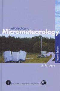 Rhonealpesinfo.fr Introduction to Micrometeorology. 2nd edition Image