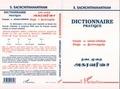 S Sachchithanantham - Dictionnaire pratique français-tamoul srilankais.