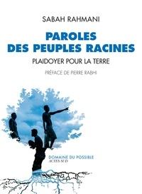 Téléchargement du livre Kindle Paroles des peuples racines  - Plaidoyer pour la Terre par Sabah Rahmani (French Edition)