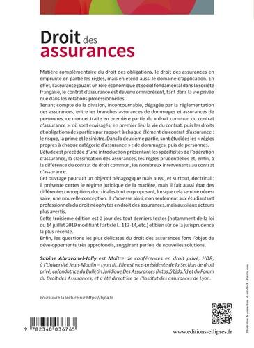 Droit des assurances 3e édition