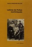 Sabine Andrivon-Milton - Lettres de Poilus martiniquais.