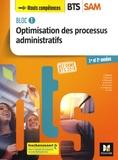 Sabine Bailleul - Optimisation des processus administratifs BTS SAM Support à l'Action Managériale 1re et 2e années - Bloc 1.