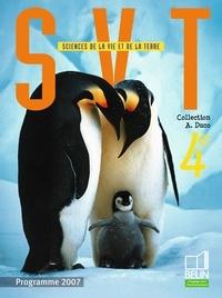 Sciences de la Vie et de la Terre 4e- Programme 2007 - Sabine Bobée |