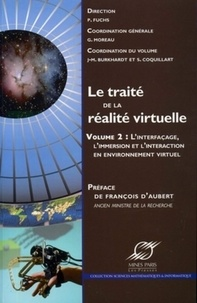 Openwetlab.it Le traité de la réalité virtuelle - Volume 2, Interfaçage, immersion et interaction en environnement virtuel Image