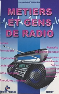 Sabine Davion-Marin - Métiers et gens de radio.