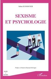 Sabine de Bosscher - Sexisme et psychologie.