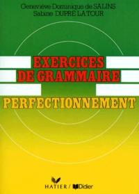 Exercices de grammaire- Perfectionnement - Sabine Dupré La Tour | Showmesound.org