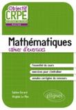 Sabine Evrard et Virginie Le Men - L'épreuve écrite de mathématiques cahier d'exercices.