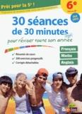 Sabine Fayon - Prêt pour la 5e ! - 30 séances de 30 minutes maxi pour réviser toute son année.