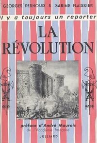 Sabine Flaissier et Georges Pernoud - La Révolution.
