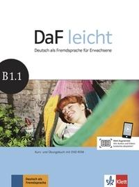 Sabine Jentges et Elke Körner - Daf leicht B1.1. 1 DVD