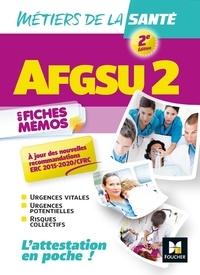 Sabine Lardin et Rosa Lopes - AFGSU 2 en fiches mémos - Métiers de la santé.