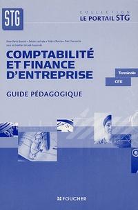 Sabine Lestrade et Anne-Marie Bouvier - Comptabilité et finance d'entreprise Tle CFE - Guide pédagogique. 1 Cédérom