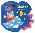 Sabine Lohf - Chaton se met au lit.