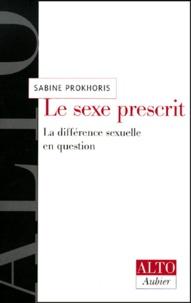 Sabine Prokhoris - .