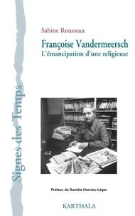 Histoiresdenlire.be Françoise Vandermeersch - L'émancipation d'une religieuse Image