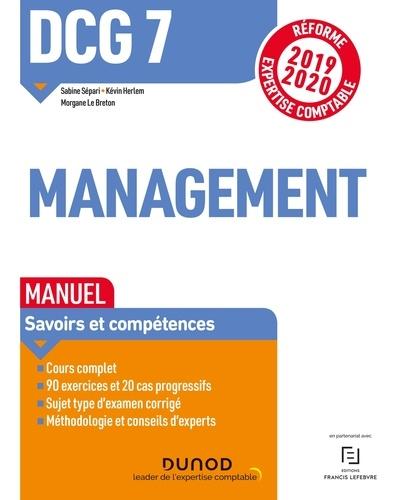 Management DCG 7. Manuel  Edition 2019-2020