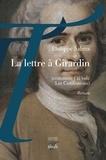 Sabres Philippe - La lettre à Girardin (comment j'ai volé Les Confessions).