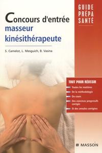 Concours d'entrée masseur-kinésithérapeute - Sabrina Camelot |