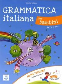 Grammatica italiana per bambini da 7 à 11 anni - Sabrina Galasso | Showmesound.org
