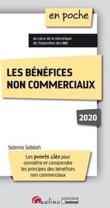 Sabrina Sabbah - Les bénéfices non commerciaux.