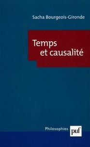 Sacha Bourgeois-Gironde - Temps et causalité.