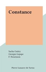 Sacha Guitry et Georges Lepape - Constance.