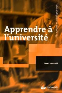 Saeed Paivandi - Apprendre à l'université.