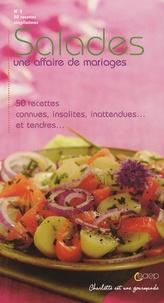 Saep - Salades - Une affaire de mariages-50 Recettes connues, insolites, inattendues... et tendres....
