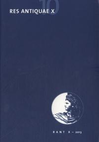 René Lebrun - Res Antiquae N° 10/2013 : .