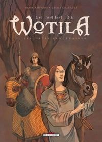 Cécile Chicault - Saga de Wotila T02 : Les trois sanctuaires.