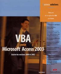 VBA pour Access - Business Solutions.pdf