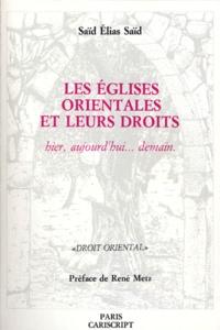 Rhonealpesinfo.fr LES EGLISES ORIENTALES ET LEURS DROITS. Hier, aujourd'hui... demain Image