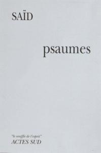 Saïd - Psaumes.
