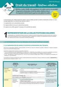 Saïda Nouredine - Droit du travail - Relations collectives.