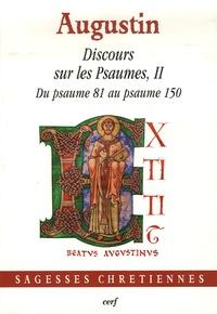 Histoiresdenlire.be Discours sur les Psaumes II - Du psaumes 81 au psaume 150 Image