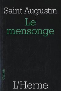 Saint Augustin - Le mensonge.