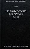 Saint Augustin - Les commentaires des psaumes Ps 1-16.