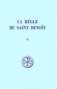 Histoiresdenlire.be LA REGLE DE SAINT BENOIT. Tome 6, Commentaire historique et critique, Parties 7 à 9 et index Image