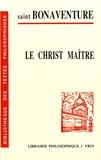 Saint Bonaventure - Le Christ maître.