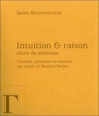 Saint Bonaventure - Sermons - Intuition & raison.
