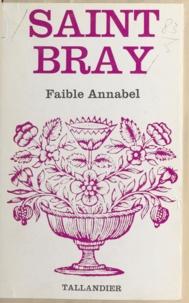 Saint-Bray - Faible Annabel.