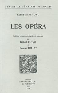 Saint-Evremond - Les Opéra.