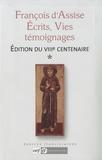 Saint François d'Assise - Ecrits, Vies, témoignages - 2 volumes.