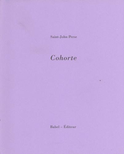 Saint-John Perse - Cohorte.