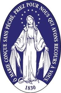 Saint Jude - Autocollant Médaille Miraculeuse.